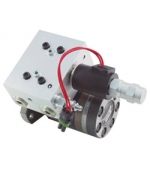 HD 4180 Hydraulic motor and valve
